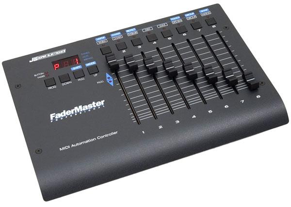 JLCooper FaderMaster Pro - 8 Fader controller di automazione MIDI