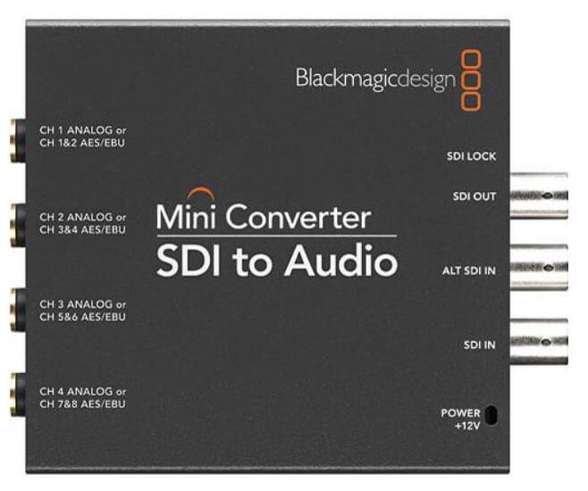 Blackmagic Mini Converter SDI to Audio