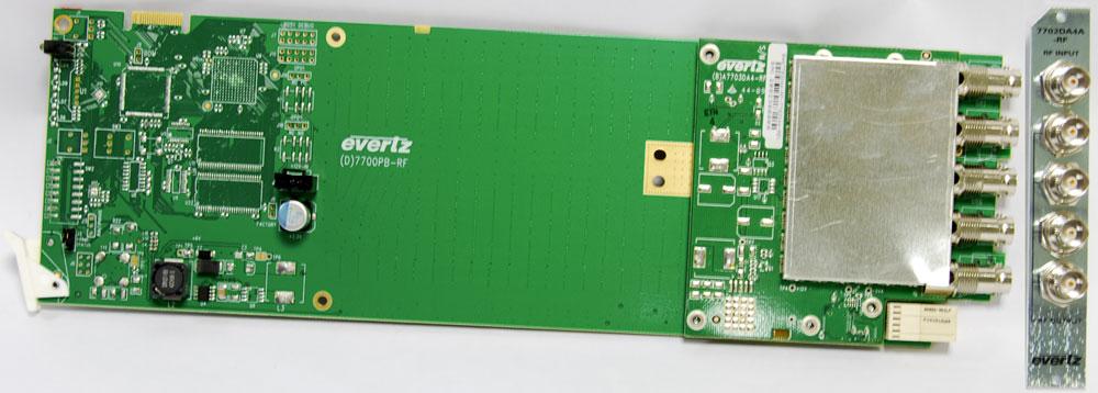 EVERTZ 7702DA04A-RF+3RU