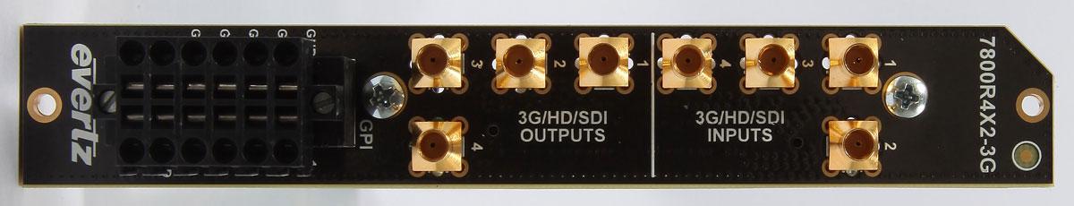 EVERTZ 7800R4X2-3G+3RU