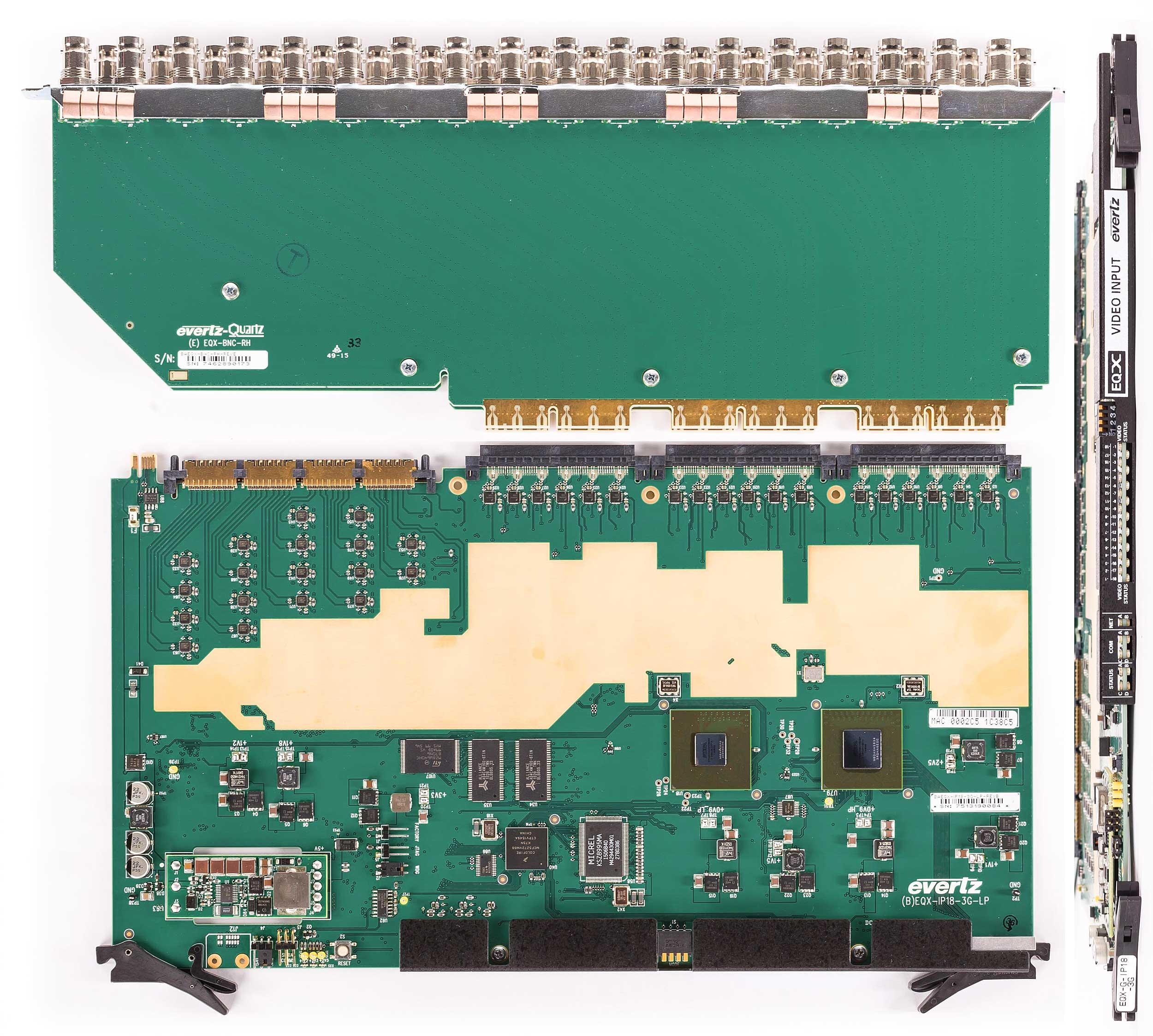 EVERTZ EQX-G-IP18-3G