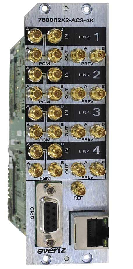 EVERTZ 7800R2X2-ACS-4K+3RU