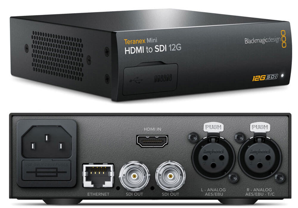 Blackmagic Teranex Mini HDMI to SDI 12G