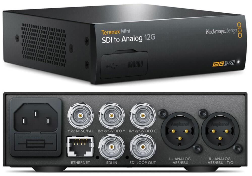 Blackmagic Teranex Mini SDI to Analog 12G