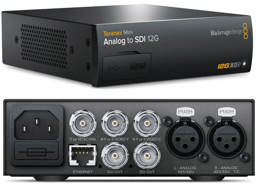 Blackmagic Teranex Mini Analog to SDI 12G
