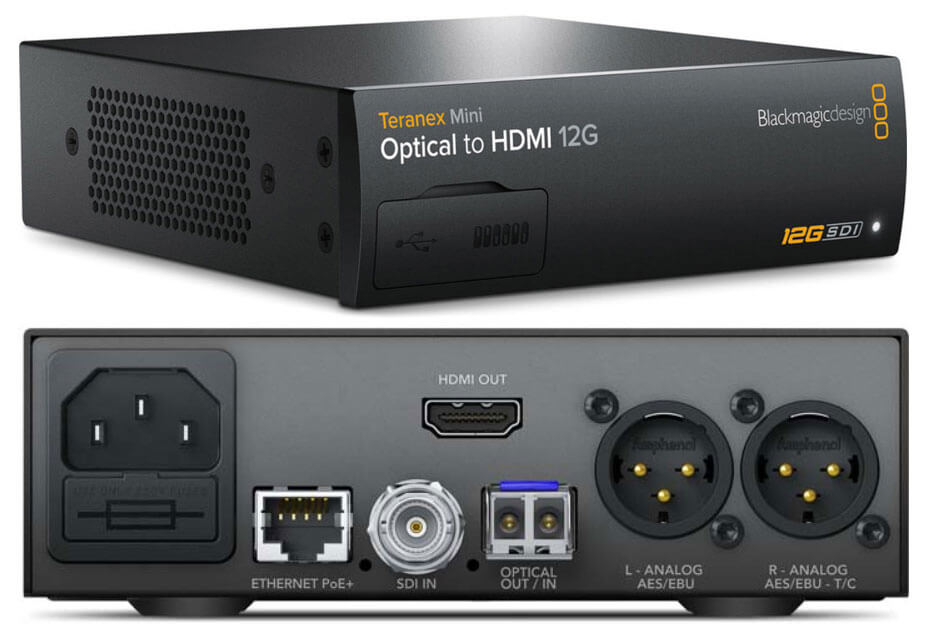 Blackmagic Teranex Mini Optical to HDMI 12G