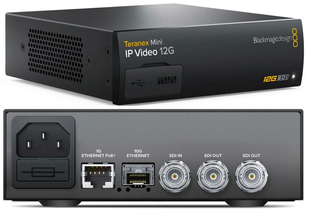 Blackmagic Teranex Mini IP Video 12G