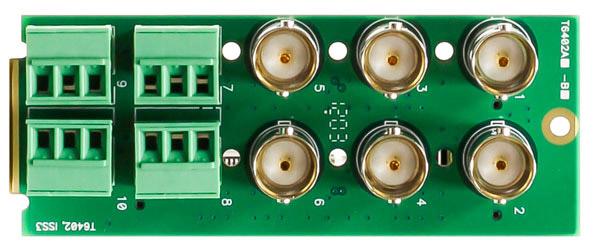 Blackmagic Design Opengear 6 video 4 audio Rear Plate