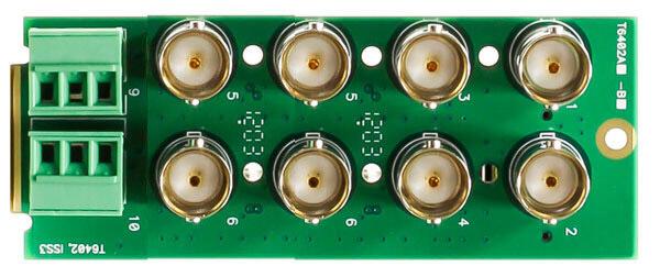 Blackmagic Design Opengear 8 video 2 audio Rear Plate