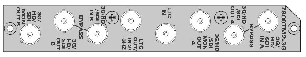 EVERTZ 7800TM2-3G+3RU