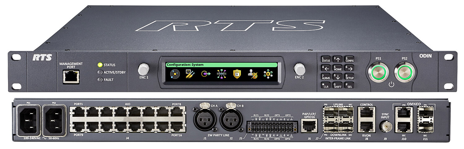 RTS ODIN - Matrice Digitale Intercom OMNEO