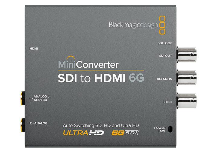 Blackmagic Mini Converter SDI to HDMI 6G