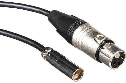 Blackmagic Mini XLR Adapter Cables