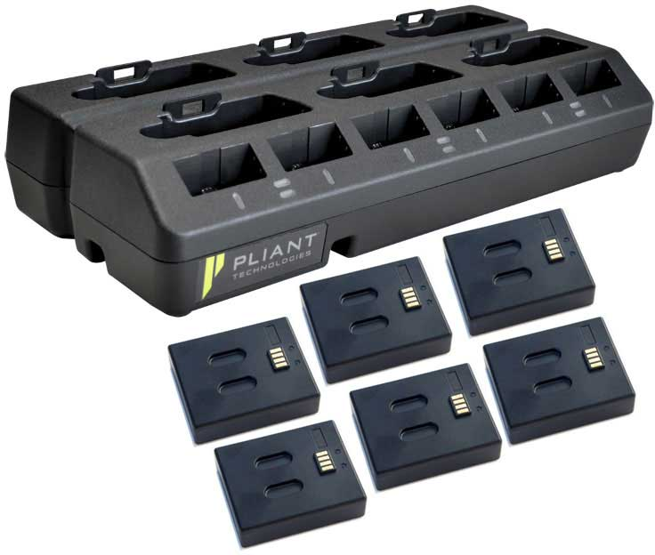 Pliant PBT-RPC-66PK Caricatore 6+6 drop-in + 6xPBT-LIP-01