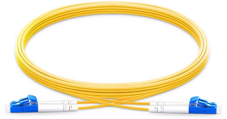 Pliant PAC-SMF-6LC Cavo patch fibra 2 metri