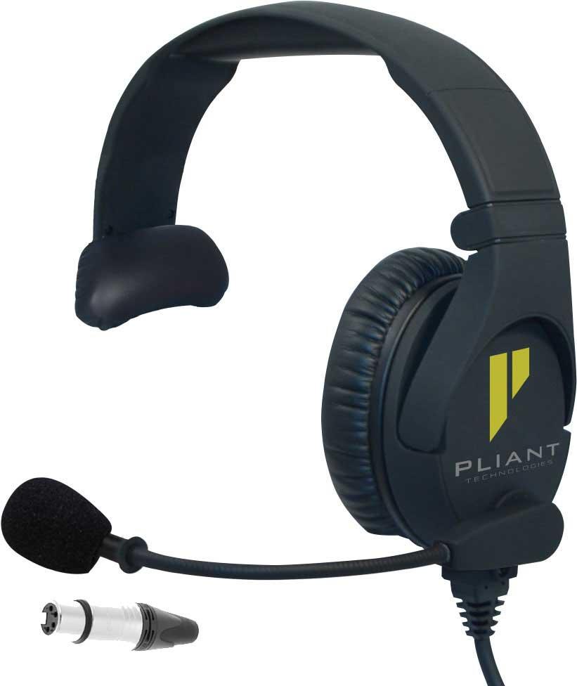Pliant PHS-SB110-4F Cuffia Monopadiglione con microfono
