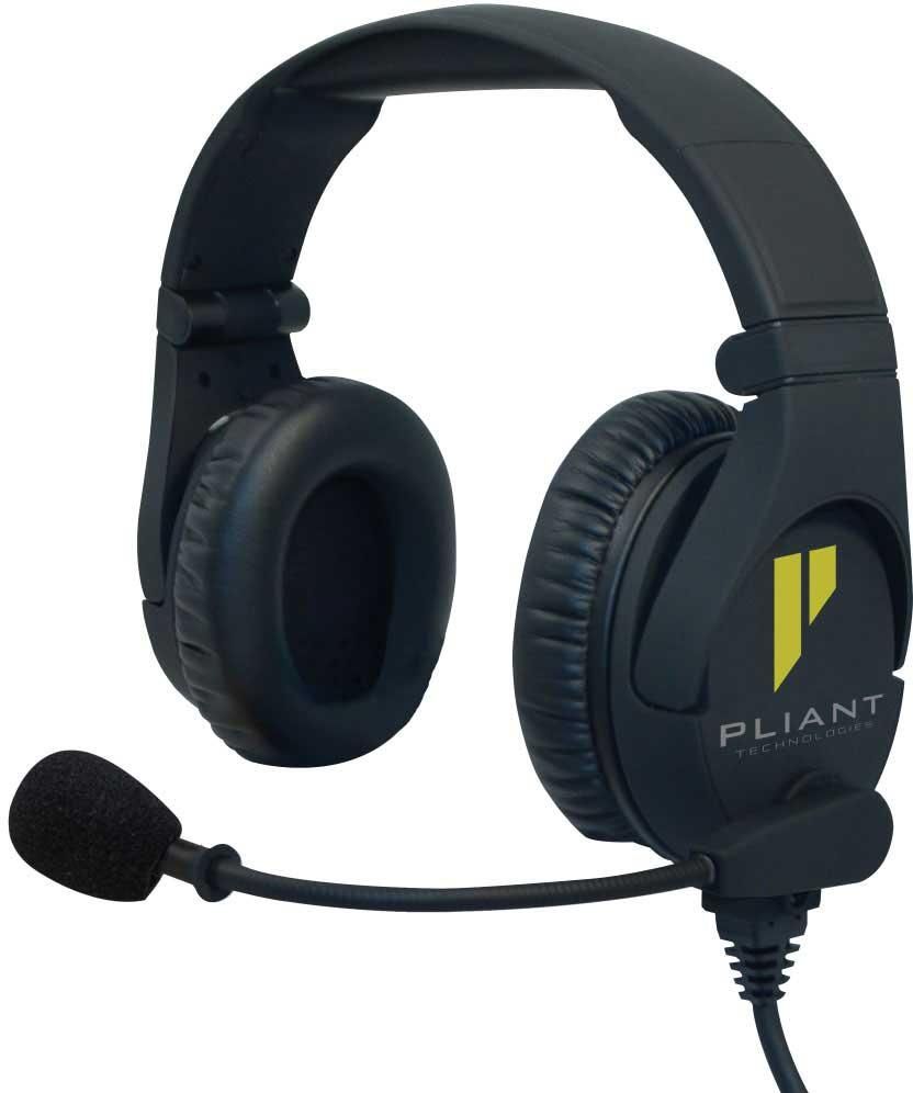 Pliant PHS-SB210-U cuffia bipadiglione con microfono
