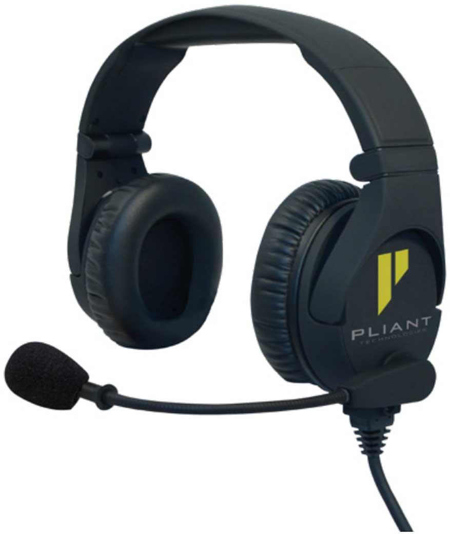 Pliant PHS-SB210E-DM cuffia bipadiglione con microfono