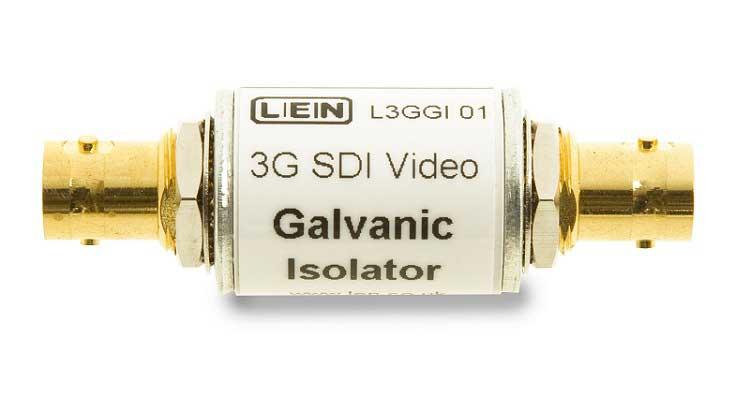 LEN LTD L3GGI01 3G HD SDI Galvanic isolator, In Line / Tubular