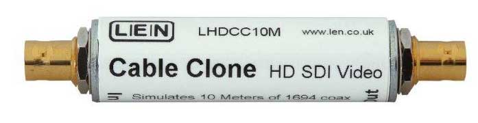 LEN LTD LHDCC10M CABLE CLONE VIDEO HD SDI, 10m Belden 1694A