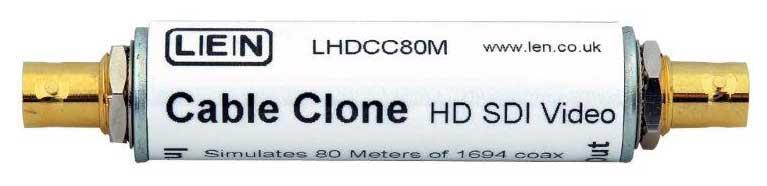 LEN LTD LHDCC80M HD SDI Cable Clone - 80m