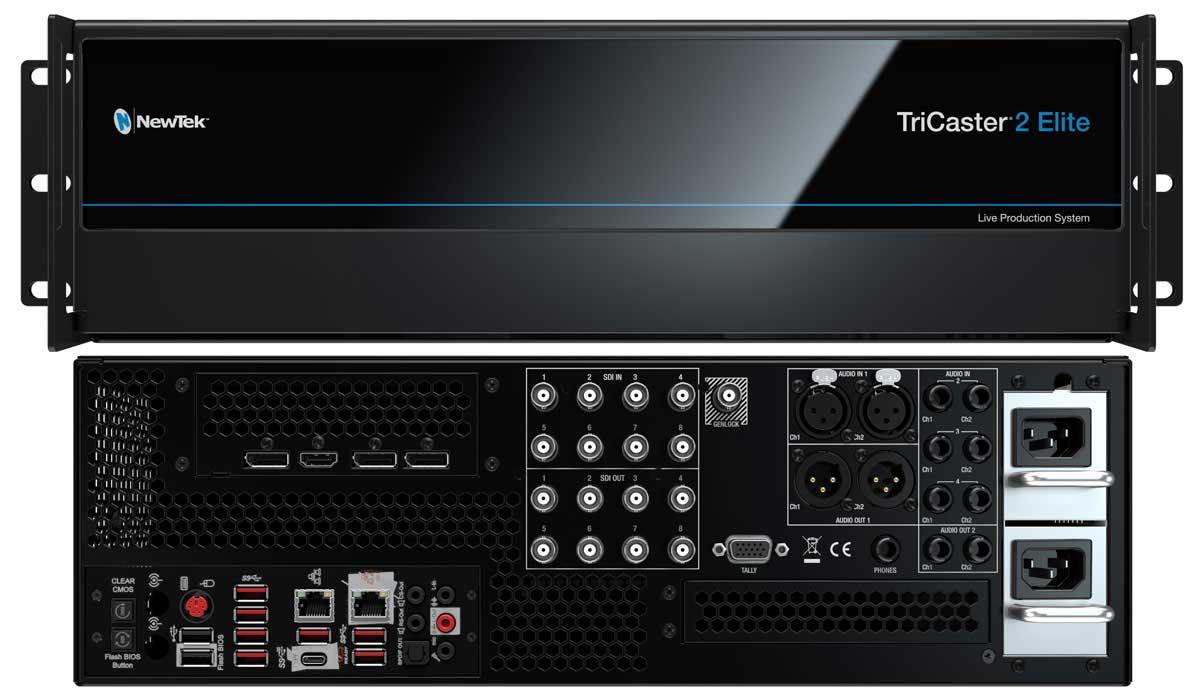 NewTek TriCaster 2 Elite Sistema di produzione Live