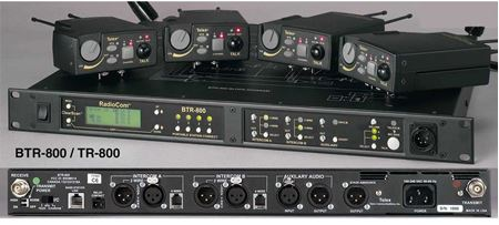 Picture for category RADIOINTERCOM BTR800 (UHF) - ANALOGIC WIRELESS