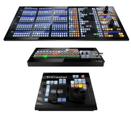 Picture for category TRICASTER AND VMC CONTROL SURFACES