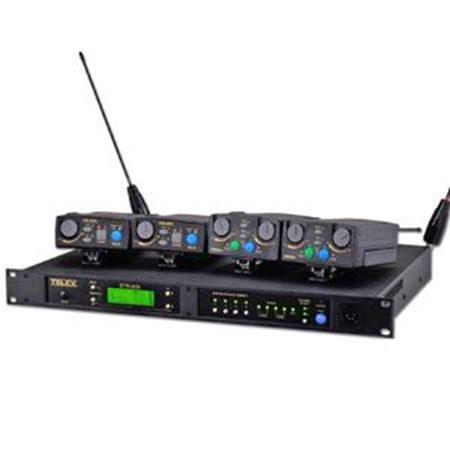 Picture for category RADIOINTERCOM TELEX BRANDED BTR80N (UHF) - ANALOGI